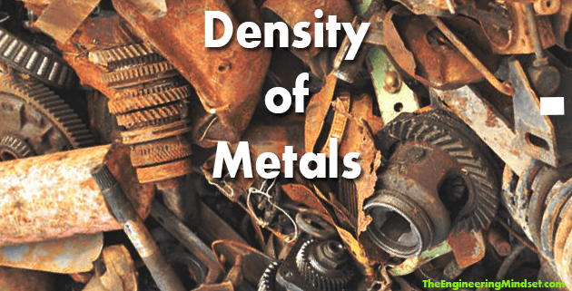 density of metals