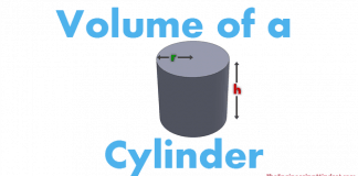 Volume of a cyclinder