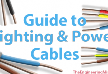 Guide to lighting and power cables