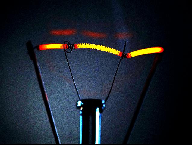 Incandescent Bulb Filament