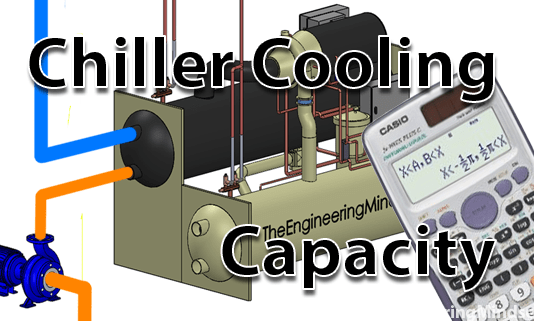 chiller cooling capacity calculation