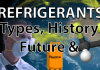 Refrigerant type, history and future