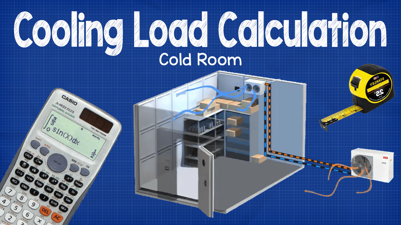 Cooling load calculation cold room the engineering mindset for How to heat your room