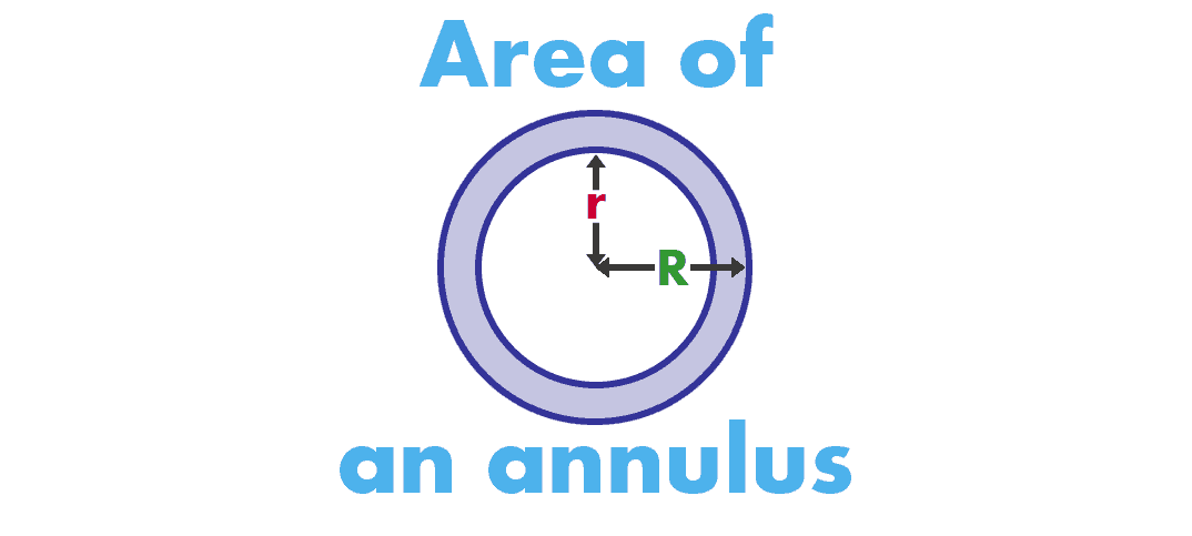 Area of an annulus or pipe