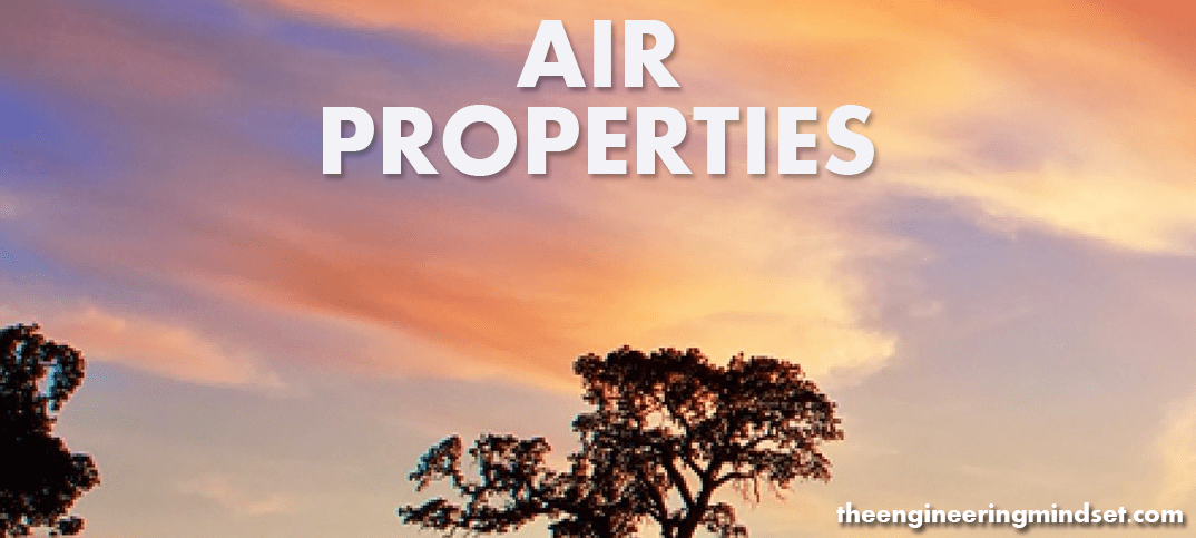 Properties of air www.theengineeringmindset.com