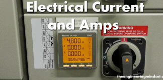 What is current amps