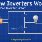 simple inverter circuit using switches – how inverters work