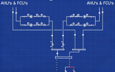 Secondary circuit pumps