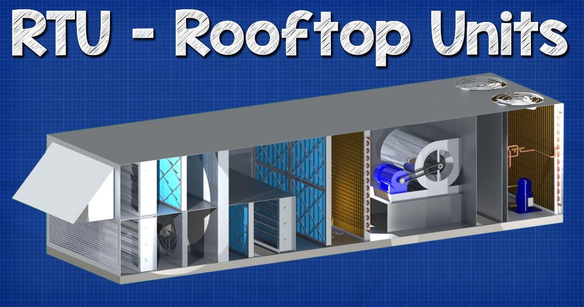 Rtu Rooftop Units Explained The Engineering Mindset