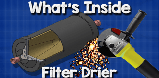 Whats inside a filter drier