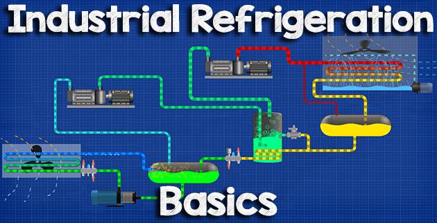 industrial refrigeration basics the engineering mindset  industrial refrigeration units wiring diagram #2