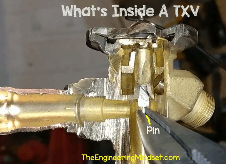 thermal expansion valve pin