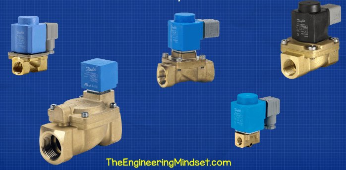 Types of solenoid valves