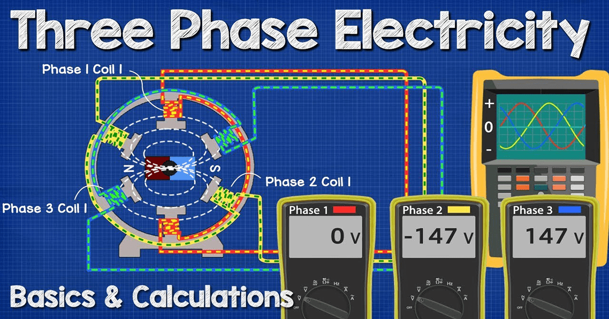 Three Phase Voltage Calculations The Engineering Mindset
