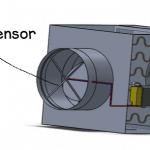 VAV-Air-flow-sensor